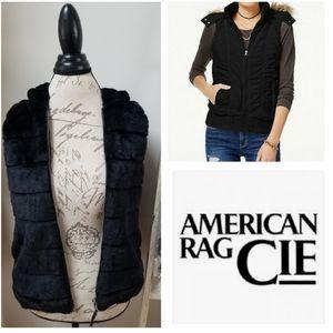American Rag hooded vest